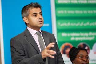 "Sutton Guardian: ""No race problem"" . . . Tooting MP Sadiq Khan"