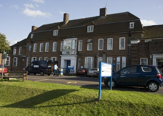 The physiotherapy department has left Sutton Hospital