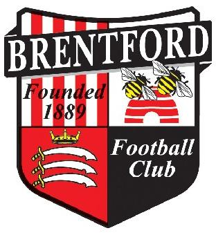 Sutton Guardian: Football Team Logo for Brentford