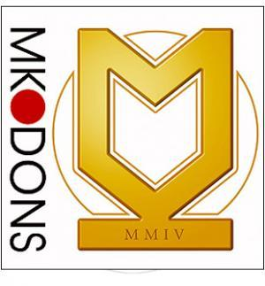 Football Team Logo for MK Dons