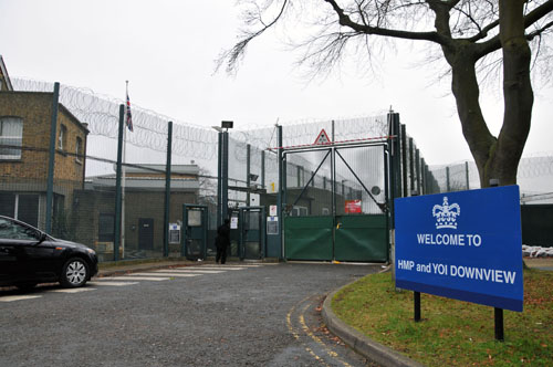 The Ministry of Justice could not rule out plans to make HMP Downview an open prison when it reopened in five months