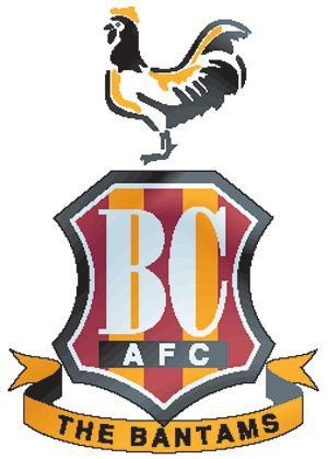 Sutton Guardian: Football Team Logo for Bradford City