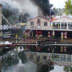 "Sutton Guardian: ""Fierce fire"" engulfs Marlow Rowing Club"