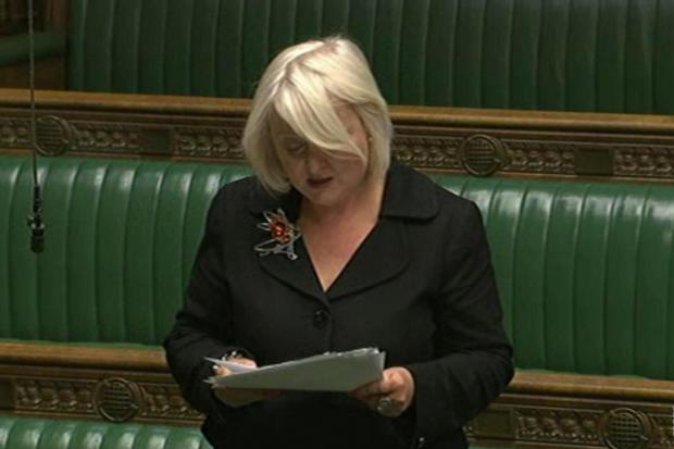"Siobhain McDonagh accused Paul Burstow and Tom Brake of being ""unprincipled"" in their defence of St Helier Hospital"