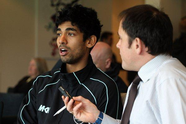Eye to the future: Sutton's Arun Harinath looks ahead ot the coming cricket season