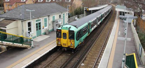 Southern services through Sutton were among those disrupted