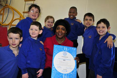 Link School in Beddington pupils promote worldwide respect