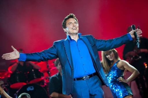 Lottery presenter John Barrowman
