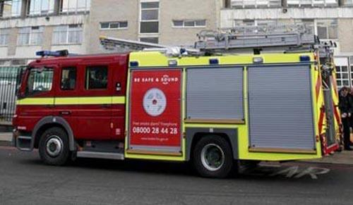 Elderly couple taken to hospital after unattended pan causes fumes