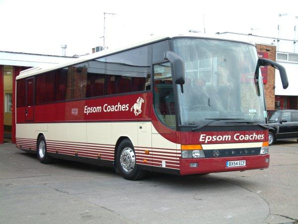 Epsom Coaches will not be merged with other operators after French sale