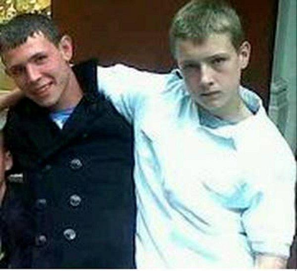 Freddy Shelley, left, was on the stolen bike with his friend Dylan Roff, right, who was killed in the crash