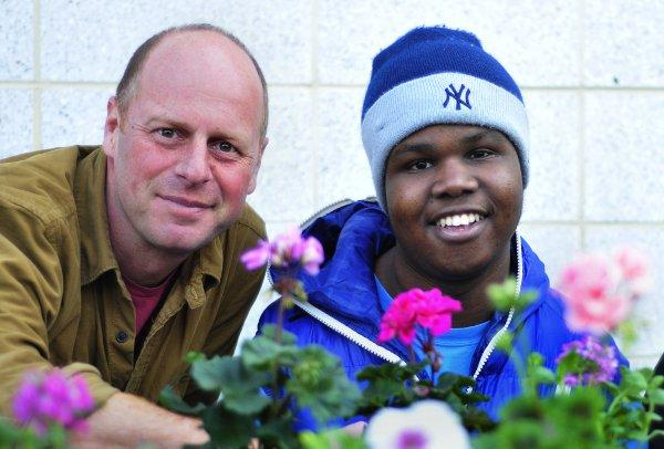 Joe Swift and Jerome Greenidge