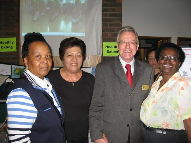 Joyce Grenado with other members of the association and Councillor Sean Brennan