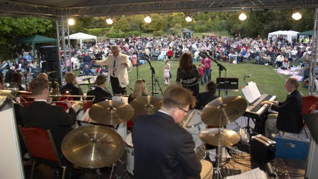 The Nonsuch big band concert is a popular annual event