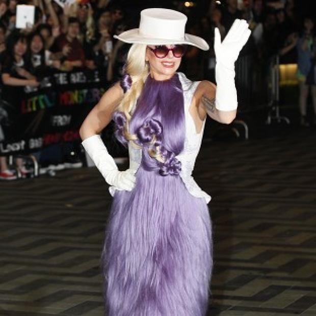 Lady Gaga is on tour in Hong Kong
