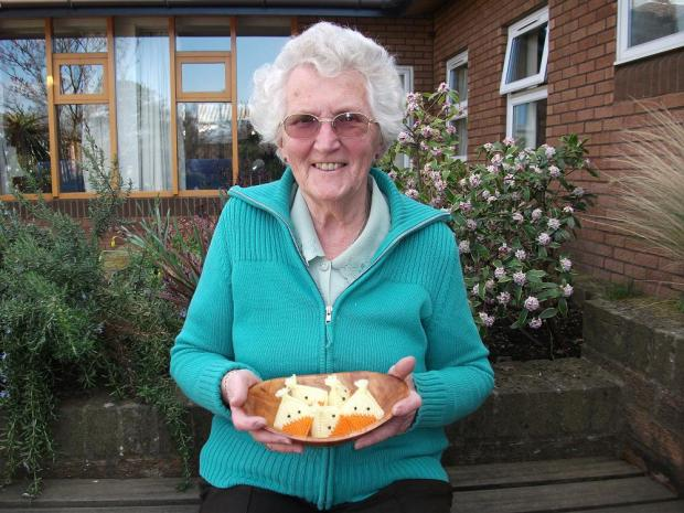 Aileen is a member of the craft group at St Raphael's Hospice