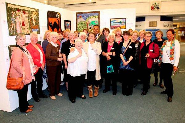 Quilters wrap up Sutton exhibition