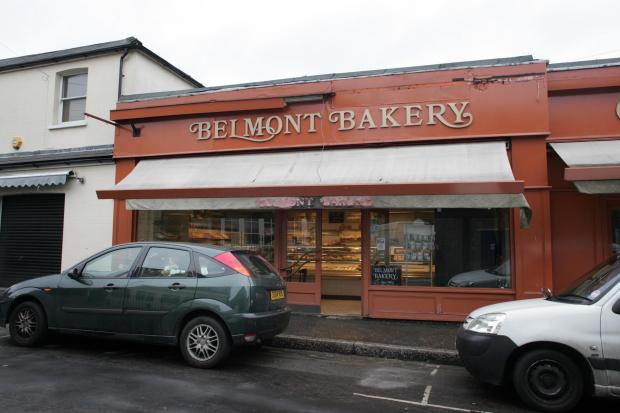 Gone: Belmont Bakery has since closed