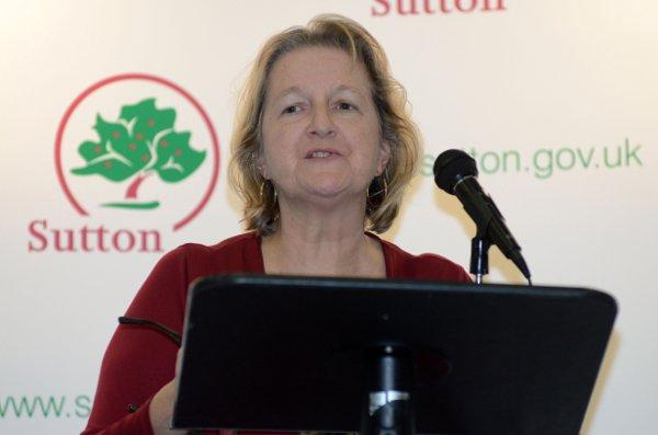 New leader of Sutton Council Ruth Dombey
