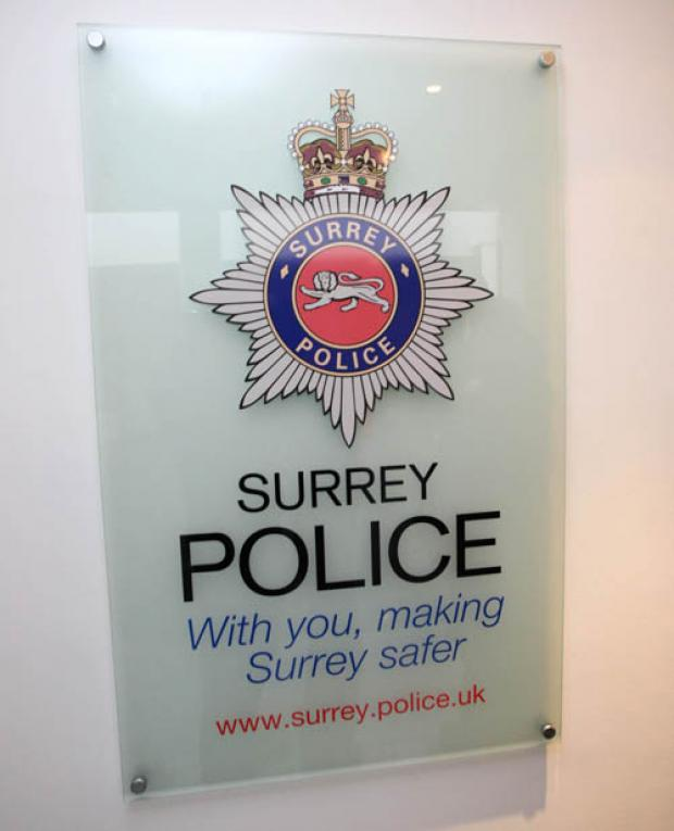 Surrey Police said two youths have been arrested for an attempted mugging in Longmead Road, Epsom