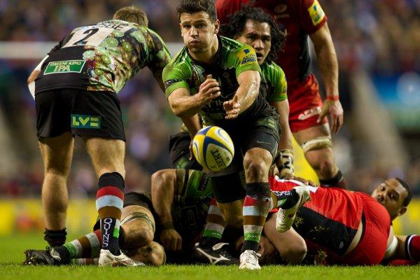 Back on song: Quins scrum half Danny Care