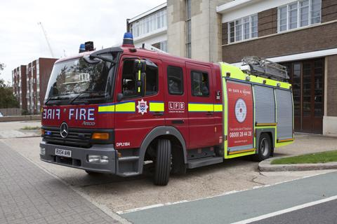 Woman treated for smoke inhalation after errant cigarette sets fire to leaves