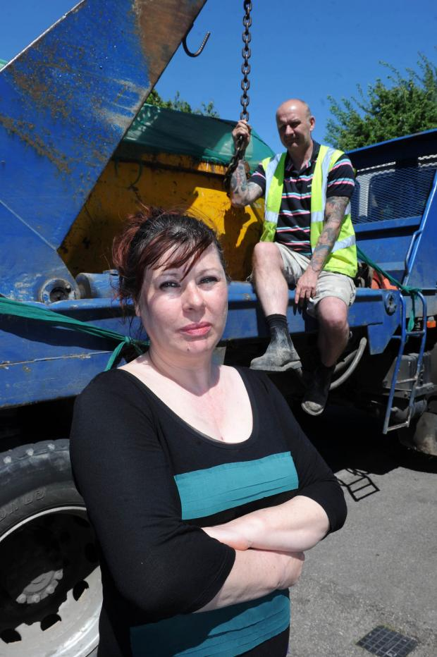 Mitcham-based Reliable Skips are one of many smaller skip companies threatened by the tax changes