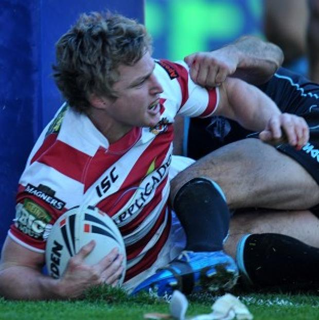 Brett Finch caught the eye with a brace of tries in Wigan's 54-12 victory over Widnes