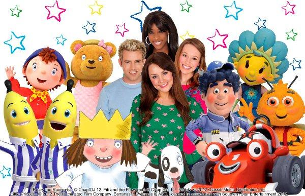 Milkshake will be coming to town with its favourite children's characters