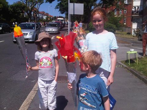 Croydon family torch route