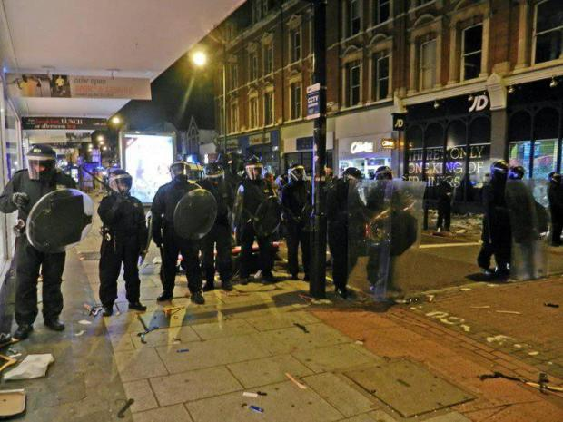 Clapham Junction riots one year on