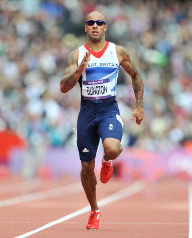 James Ellington fails to make it out of 200m heats