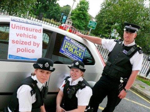 Operation Redgrave catches uninsured drivers at home