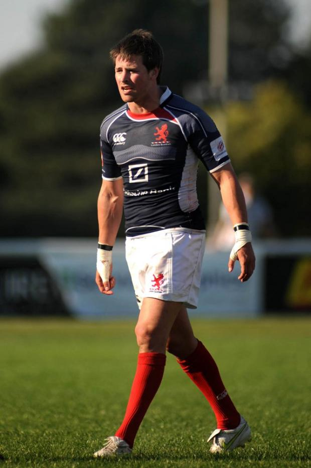 On his way: Scrum half Matt Heeks is after a fresh start at Rosslyn Park