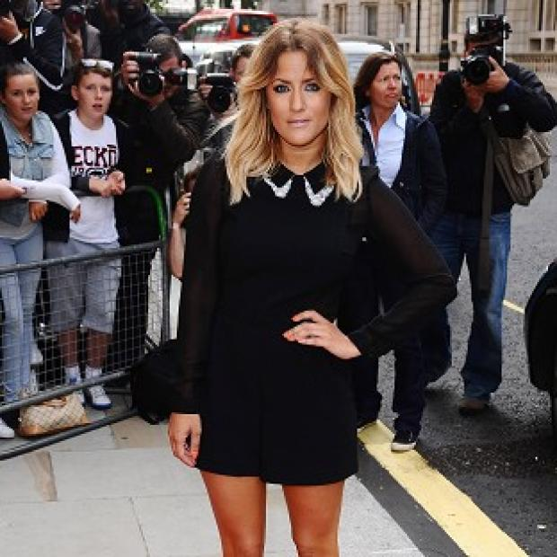 Caroline Flack has been named as an ambassador for the Teenage Cancer Trust