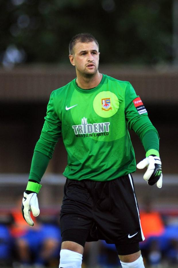 Staying on guard: Ks keeper Rob Tolfrey is loving their fast-paced attacking style      SP69699