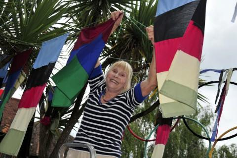 Grandmother decorates Cheam for the Paralympic Games