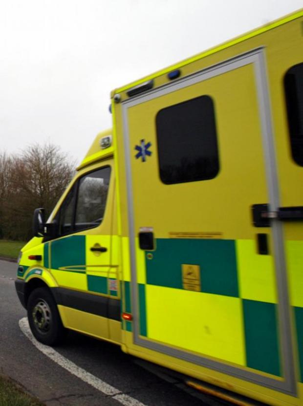 Paramedic's bag stolen from ambulance