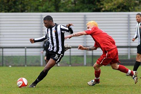 Dream debut, penalty nightmare: Leafe's Marlon Wallen in his Tooting days