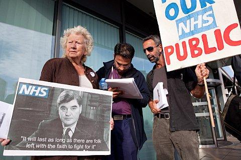 Campaigners deliver Save St Helier petition to NHS chiefs