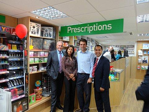 New Carshalton pharmacy gets MP Tom Brake's approval