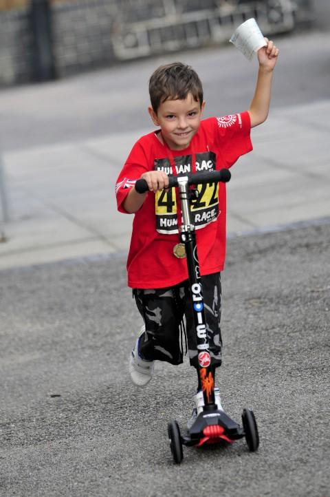 Thousands raised for Tofs by 6-year-old Jack Johnson who was born unable to swallow