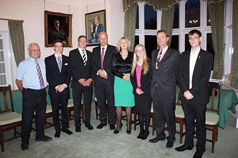 Epsom College hosted the event which was attended by Epsom and Ewell councillors and Chris Grayling MP