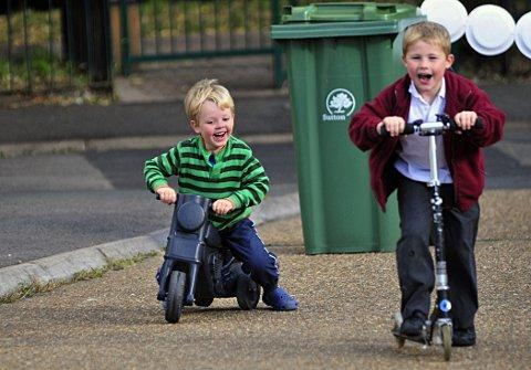 Council close streets to traffic to give children freedom of streets