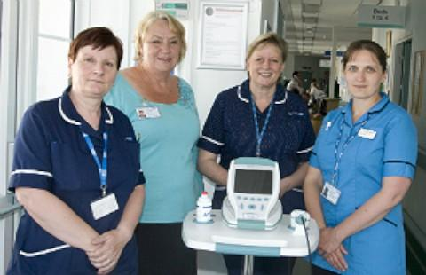 £22,500 scanners donated to St Helier Hospital