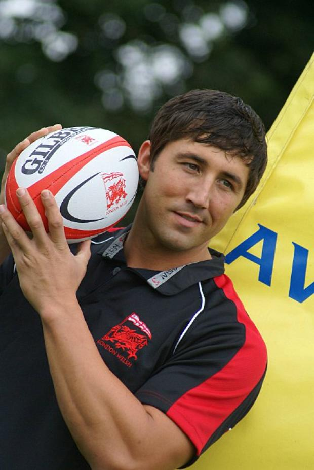 Fresh start: Gavin Henson has the chance to fulfil his Premiership potential at London Welsh
