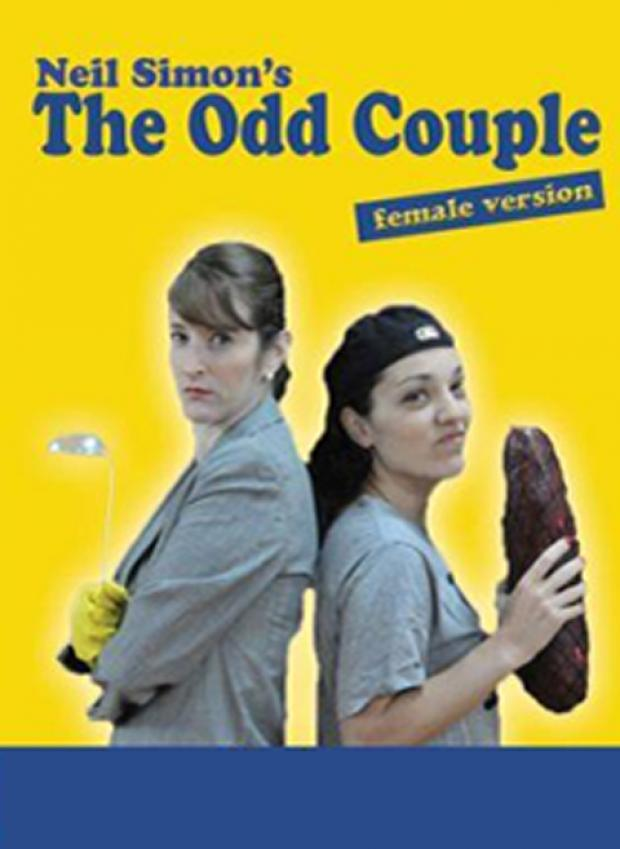 All girl Odd Couple at Barn Theatre Club