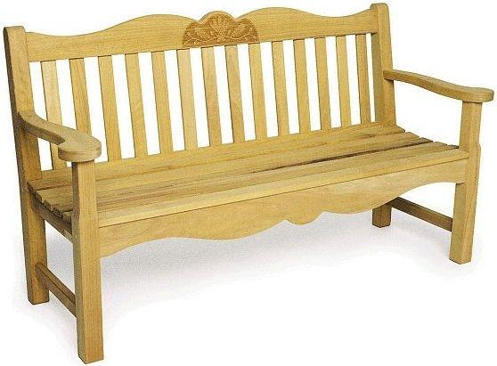 What the bench looked like