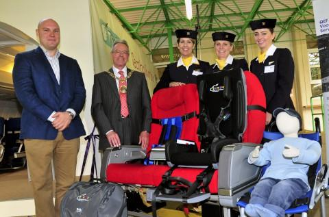 Former army medic from Dorking Rory Mackenzie launches air travel service for disabled people in Sutton