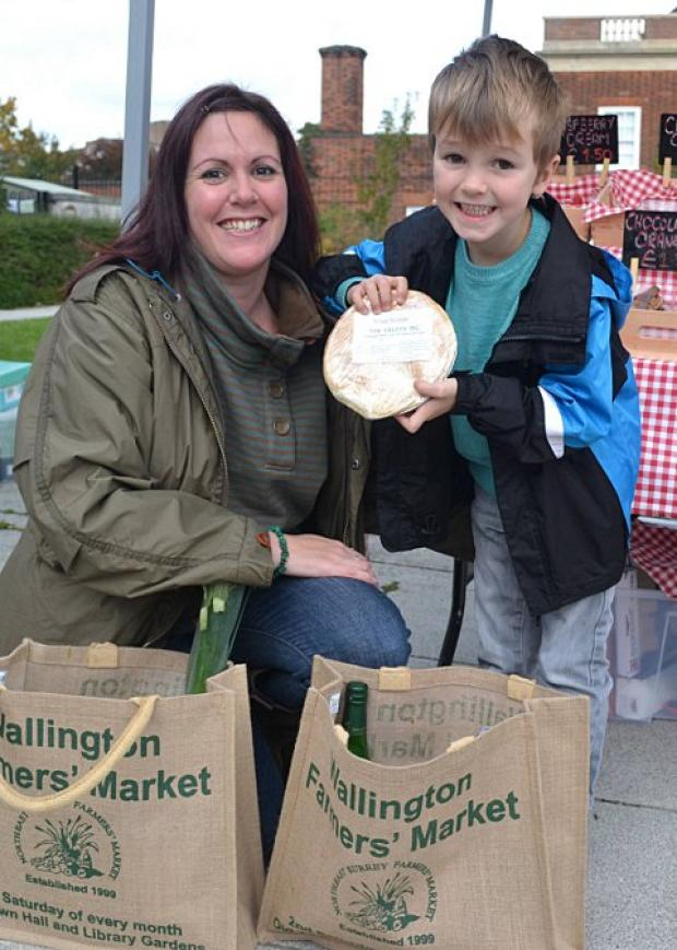 Winners take the soils at Wallington Farmers market